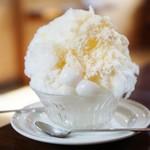 71497961 - 生レモンミルク氷+白玉
