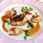 715673 - トリアノン 魚料理(青ぞいロースト)