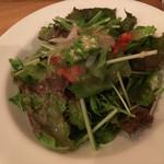 ダ・フィオーレ - 料理写真:コースのサラダ