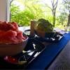 福屋 盛寿の郷 - 料理写真:さくらももいちご&白玉宇治金時