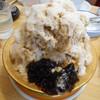 コメダ珈琲店 - 料理写真:コーヒーミルクかき氷