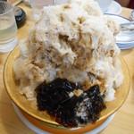 コメダ珈琲店 - コーヒーミルクかき氷