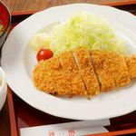 黒豚ロースカツ御膳+ビュッフェ