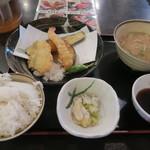 71506675 - 天ぷら定食 580円 (税込)
