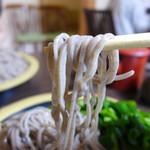 小代 行川庵 - ご当地小代産蕎麦だそうです。
