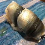 第三春美鮨 - 新子 二枚漬け 小型定置網漁 佐賀県大浦