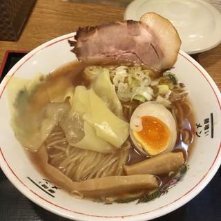 麺喰い メン太ジスタ - 料理写真:メン太そば 醤油