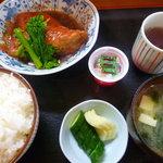 むぎ - 金目鯛煮付け定食800円
