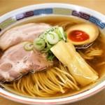 71510259 - ■煮干らーめん 780円(薄口醤油)