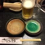 ちゃんこ石浦 - 生ビール