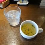 71511205 - ランチ:パスタプレート:スープ