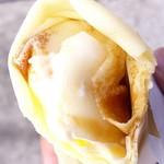 71511881 - キャラメル・カスタード・ホイップ・バナナ+アイス300円