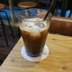 東京天狼院 - アイスコーヒー