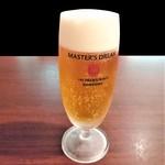 ウルトラチョップ - 『生ビール(MASTER'S DREAM Draft)』~!! プレモルよりも アロマホップの香りが効いて旨~い!!(* ̄∇ ̄)ノ