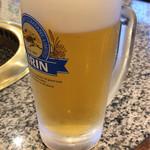 大倉山 - 生ビールはキリン
