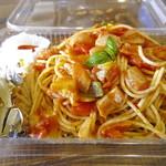 ブッセ - ランチのお弁当「ナポリタン(500円)」