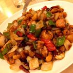 龍門 - 鶏肉とカシューナッツ炒め