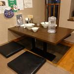 麺屋NOROMA - ☆掘り炬燵式テーブル席(*^。^*)☆