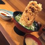 71516970 - 海鮮かき揚げ丼  (あら汁付き)