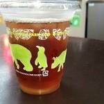 上野動物園 カフェカメレオン - アイスティー