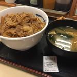 松屋 - プレミアム牛めし380円