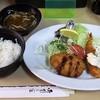 洋食の店 三起 - 料理写真:「ミックスフライ定食」(850円込)(2017年8月)