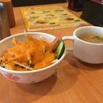 エス タージマハルエベレスト - サラダとスープ