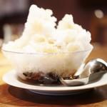 カフェ マメヒコ - 氷あんみつ