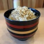 片町 弥ひろ - じゃこ飯