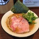 麺屋ほぃ - 鶏白湯ラーメンしょうゆ(700円)