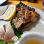 山小屋 - 太刀魚塩焼き
