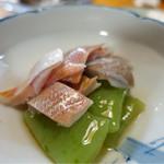 山小屋 - 小鯛の酢