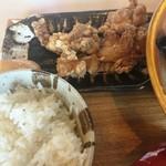 味噌乃家 - 唐揚げセット
