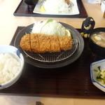 71523079 - 沖田黒豚 ロースかつ膳