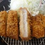 71523082 - 沖田黒豚 ロースかつ膳