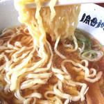 食堂 はせ川 - すごいモチモチ麺