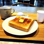 PITMANS - ホットコーヒーとモーニングセット