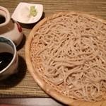 酒縁蕎亭 渉の盃 - 「桜切り蕎麦」