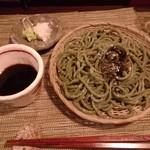 酒縁蕎亭 渉の盃 - 「生青海苔蕎麦」