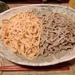酒縁蕎亭 渉の盃 - 「トマト蕎麦」「バジル蕎麦」