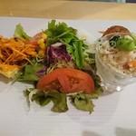 ターブル・ヒロヤ - ドリアランチの前菜