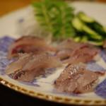田吾作 - とび魚さしみ