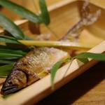 田吾作 - あゆ塩焼き