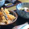 うどん市 - 料理写真:おろし市天丼セット 900円