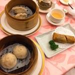 中国料理 桃華樓 - 選べる点心ランチ2200円の点心3種