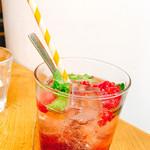 71529342 - Pomegranate Berry Soda