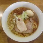 バードメン - 味玉入り鶏ソバ