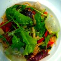 トリカフェ - とある日の季節野菜のスパゲッティ