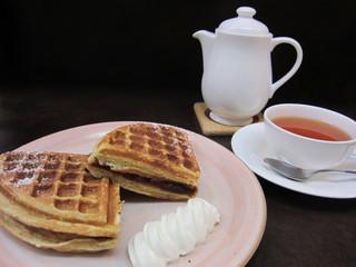 tea&sweets こく~ん - 2011年冬限定ワッフル~あんこ和ッフル~