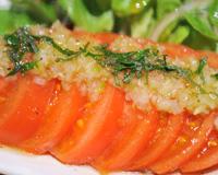銀座羊屋 はなれ - 人気のトマトサラダ